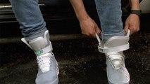 Retour vers le futur 2: les baskets à laçage automatique de Marty McFly sortiront en 2015 chez Nike