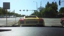 Lamborghini Nasıl Parçalanır İşte Canlı Örneği! Yok Böyle Bi