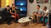WebReal TV : Rami le magicien charme Vitaa avec un tour de cartes dans un iPhone en flammes