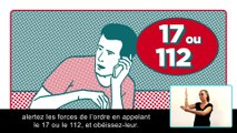 Réagir en cas d'attaque terroriste - #3 alerter - version accessible