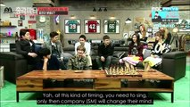[ENG SUB] 150219 Bachelor Party - Kangin, Eunhyuk and N's Morning Call