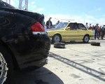 BMW 650i Coupe Vs. BMW E30 Drag Race