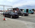 Ford Mustang Shelby GT Vs. Ford Mustang Shelby Cobra Drag Race