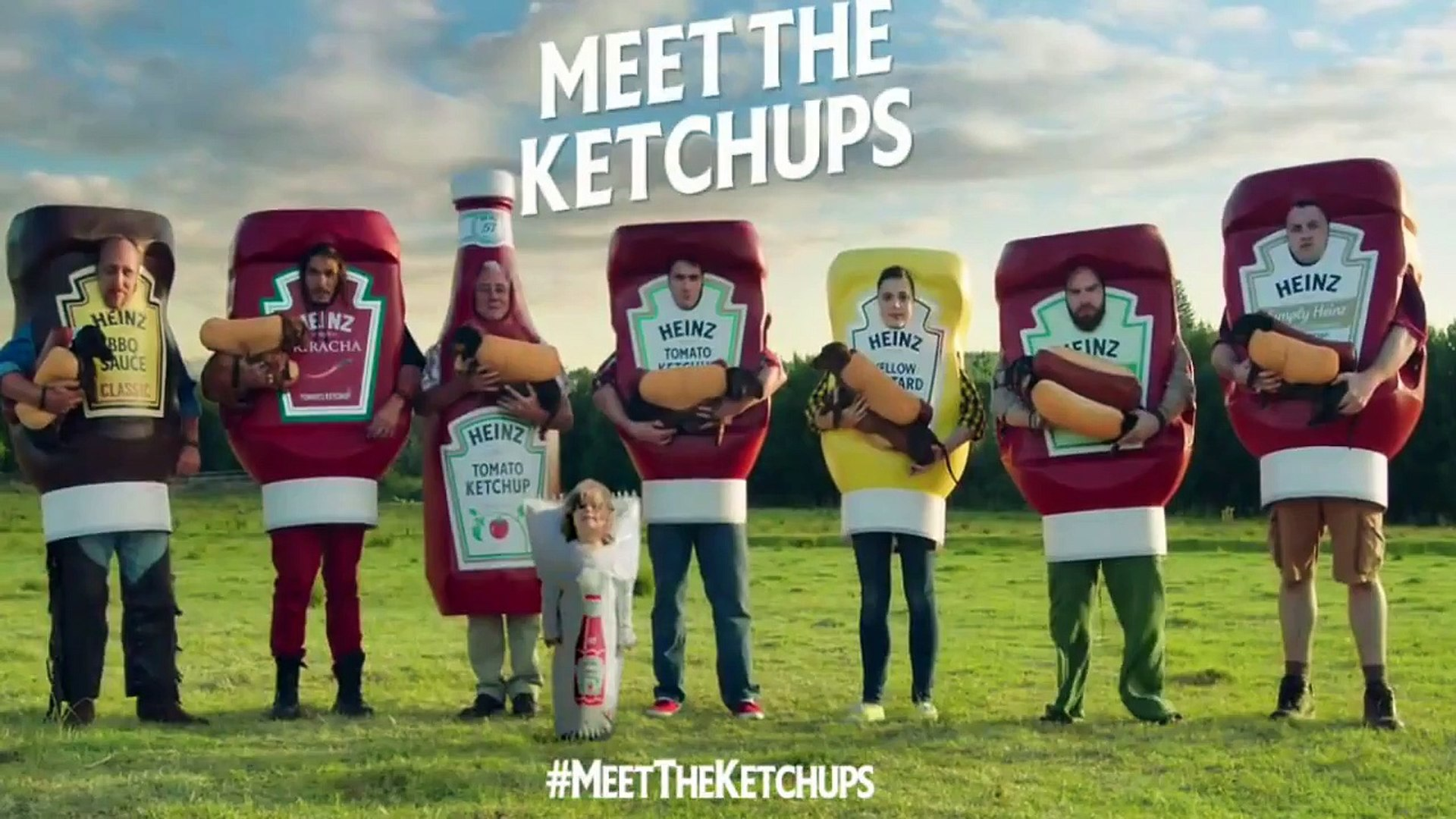 HEINZ Ketchup Super Bowl Commercial 2016 Super Bowl Ads - Hot Dog Commercial -