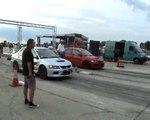 Mitsubishi Lancer EVO IX Vs. Mitsubishi Lancer EVO IX Drag Race