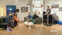 Les Décaféinés font pleurer de rire Emeric et Romeck avec leur spectacle « dépression musicale » dans la WebReal TV