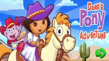 Dora The Explorer Games,Doras Pony Adventure,Full Episodes Game in English | NickJr Games For Kid