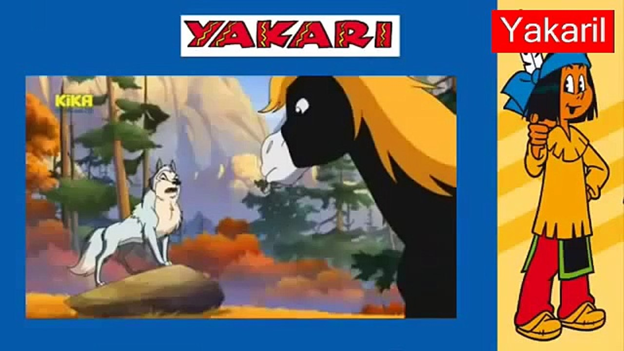 malvorlagen yakari kika orange  malbild