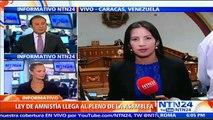 Oposición venezolana presenta formalmente Ley de Amnistía para liberar a presos políticos