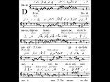 Tractus Gregorian 'Deus Deus meus', Dominica in Palmis (Dimanche des Rameaux)