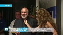 Celine Dion Pays Tribute to Late Husband Rene Angelil at Las Vegas Memorial