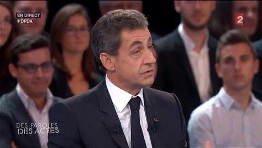 Dpda Nicolas Sarkozy Seul Face A David Pujadas Il Tacle Ses Adversaires Politiques Video Video Dailymotion