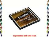 Kingston CF/64GB-U3 -  Tarjeta de memoria CompactFlash Ultimate 600x - 64 GB