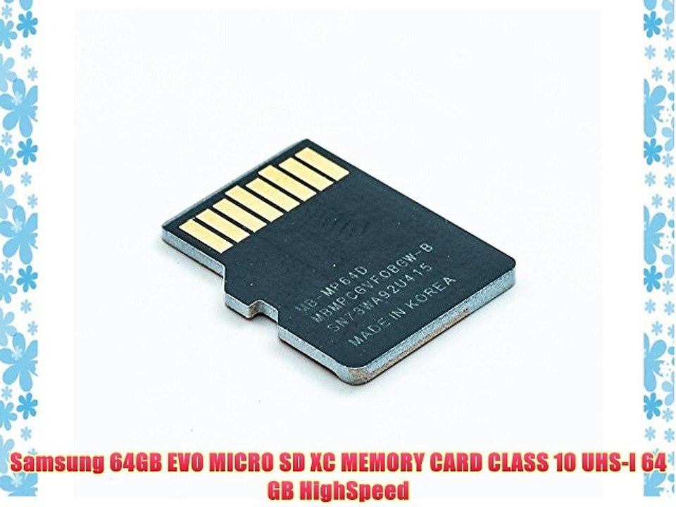 64GB QUMOX SD XC 64 GB Class 10 Memory Card
