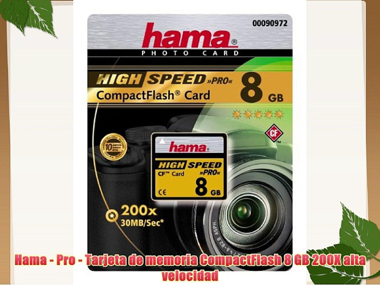 8/GB, clase 10 Tarjeta de memoria microSDHC Hama