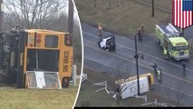 4 students on board school bus involved in deadly crash in New Jersey