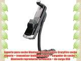 Soporte para coche Bluetooth manos libres CrazyFire coche soporte   transmisor inal?mbrico