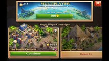 Dominations : Complete Destruction of the City of Ur in One Minute (ios Gameplay)