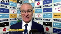 Leicester 2 0 Liverpool Claudio Ranieri Post Match Interview Jamie Vardy Goal Unbelievabl