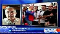 """""""No viajé a los 15 años del Plan Colombia por los desacuerdos con la administración Santos"""": Álvaro Uribe a NTN24"""