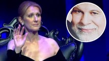 Céline Dion retient ses larmes en rendant hommage à son mari défunt