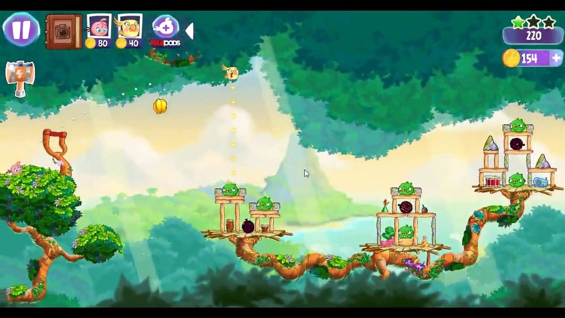 Angry Birds Stella Level 16 ★★★ Walkthrough Episode 1