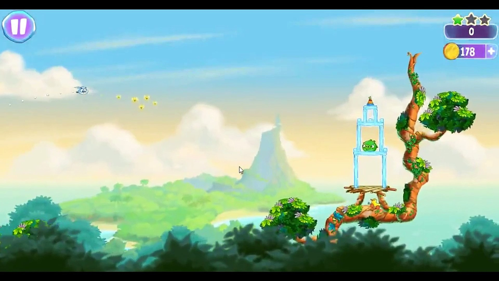 Angry Birds Stella Level 23 ★★★ Walkthrough Episode 1