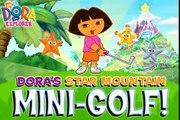 Doras Star Mountain Mini Golf Game cartoons Dora la Exploradora baby games jeux de filles CKV