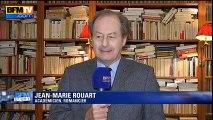 """Jean-Michel Rouart : """"Attention à ne pas jeter la langue française par démagogie"""""""