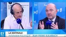 Déficit, croissance et crise agricole : Pierre Moscovici répond aux questions de Jean-Pierre Elkabbach