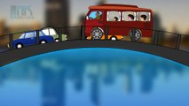 Wheels On The Bus Go Round And Round - 3D Animation Kids Songs | Nursery Rhymes for Children