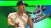 Lose Yourself – Eminem (Alex Hartung)   The Voice 2014   Blind Audition
