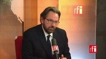 Frédéric Lefebvre: «La déchéance de nationalité, c'est le type même du faux débat»