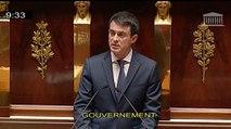 Examen du projet de loi de révision constitutionnelle : discours de Manuel Valls à l'Assemblée nationale