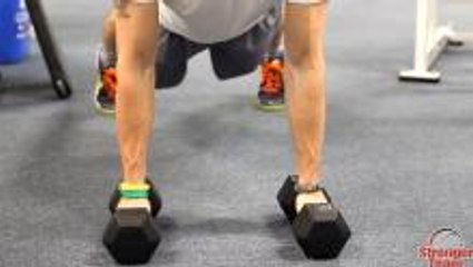 Strength Exercise for Basketball: Push-Up Row