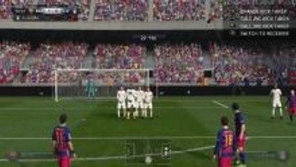 FIFA 16 Free Kick Tutorial! Score Free Kicks Easy!