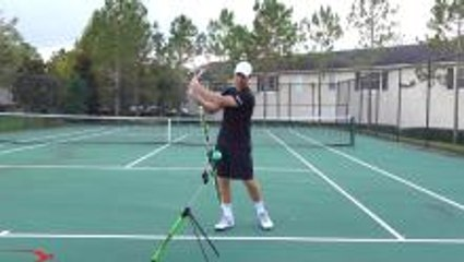 How To Get Topspin On Your Backhand