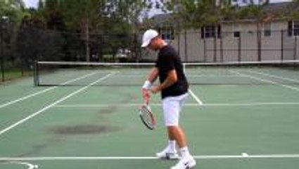 Tennis Topspin Secret - Racket Drop & Release