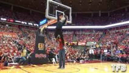 Amazing Dunks by White and Dupuy at Iowa State