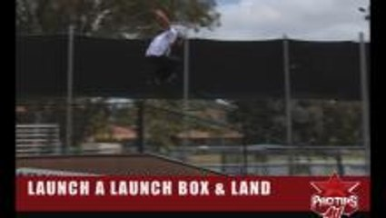 Chris Haffey: How To Take Off and Land a Launch Box