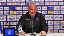 Bastia-Troyes : Conf. d'avant-match de F. Ciccolini