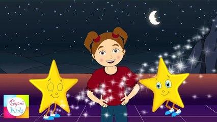 Twinkle Twinkle Little Star Nursery Rhyme - Rhymes For Children | Cartoon Animation For Children