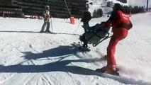 Ski aux Ménuires: l'aide aux personnes handicapées