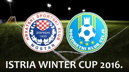 ISTRIA WINTER CUP 2016. - HSK Zrinjski Mostar vs NK Celje