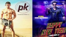Aamir bypasses SRK, Gets PK's Trailer Attached to 'Happy New Year' without speaking to Latter