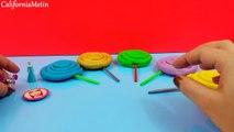Lollipop Play-Doh Surprise Eggs Disney Frozen Flash Gordon Barbie Looney Tunes
