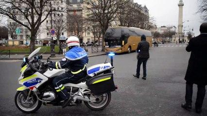 Manifestation des chauffeurs de VTC