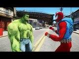 The Incredible Hulk VS Scarlet Spider-Man (Ben Reilly)