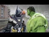 BATMAN VS HULK - Batman Knightfall