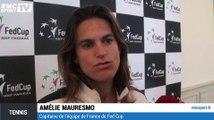 Tennis : Comment Amélie Mauresmo gère Murray et la Fed Cup ?